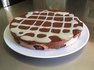 tarta de donettes