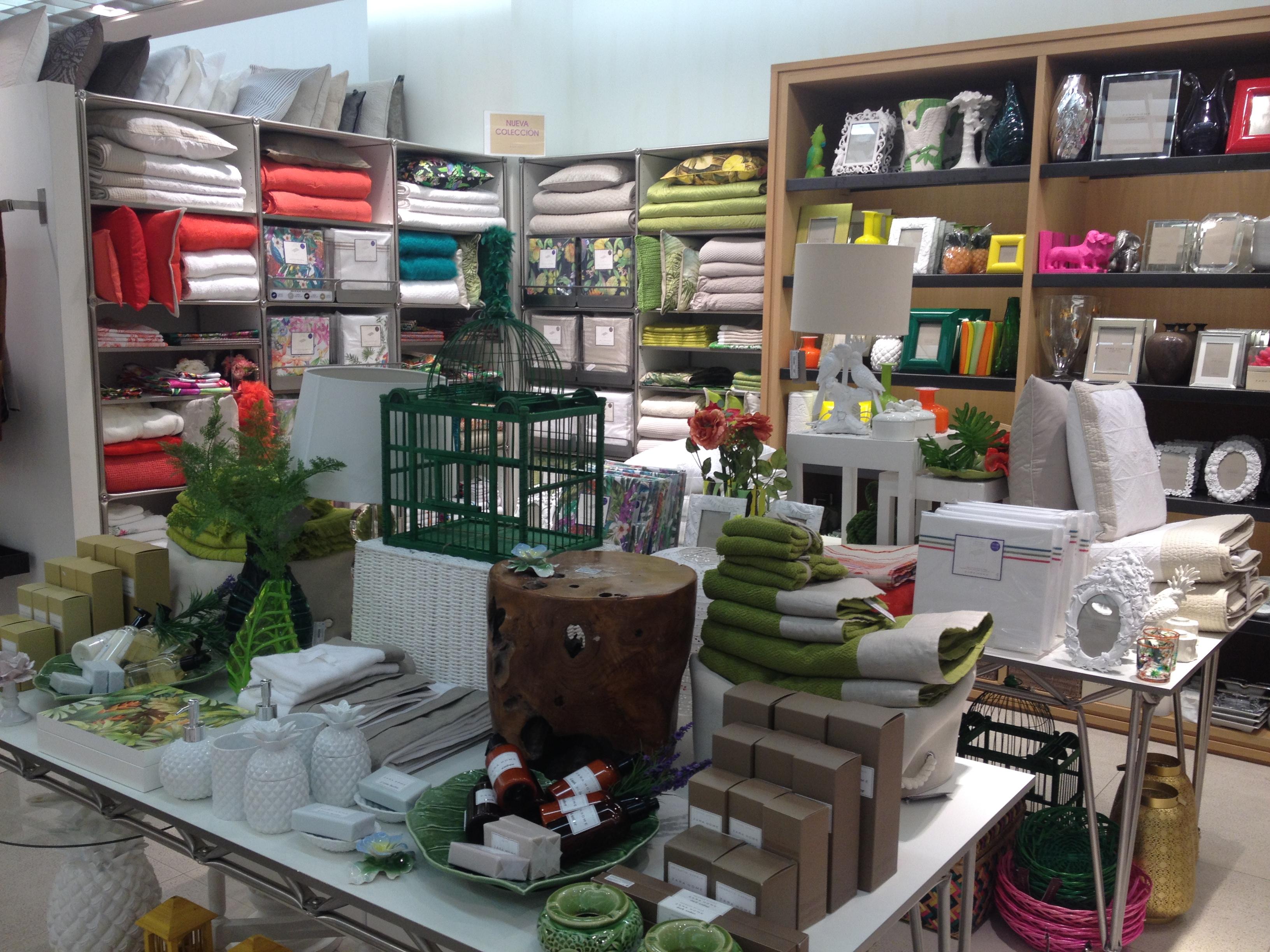 Tendencias en textil hogar para primavera verano 2014 de - Zara home decoracion hogar ...
