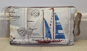 bolso cartera www.decharcoencharco.com