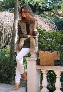 chaleco faux fur www.decharcoencharco.com
