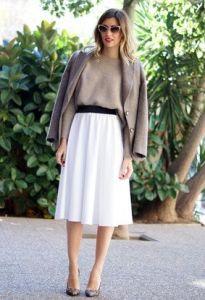 falda midi www.decharcoencharco.com