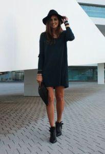 vestido con botas www.decharcoencharco.com