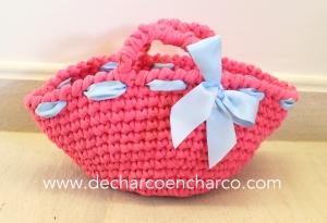 Bolso niña www.decharcoencharco.com