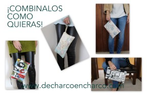 COLLAGE BOLSOS WWW.DECHARCOENCHARCO.COM