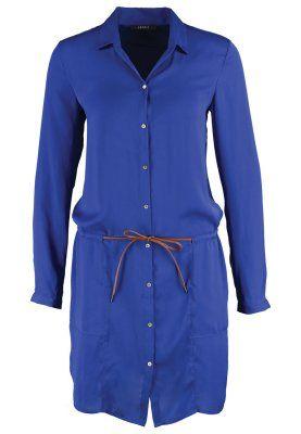 vestido camisero azul klein esprit zalando www.decharcoencharco.com