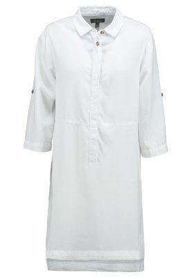 vestido camisero blanco topshop zalando www.decharcoencharco.com