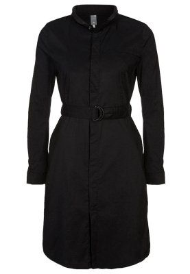 vestido camisero negro gstar raw zalando www.decharcoencharco.com