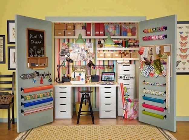Ideas Oficina Casa Organizar En