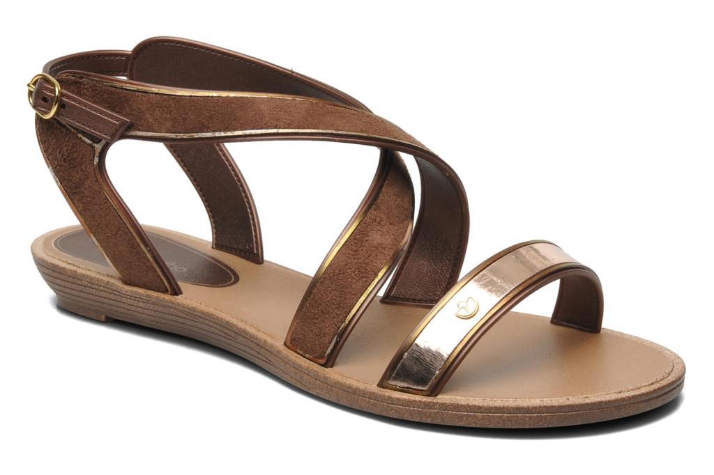 grendha marron sandalias www.decharcoencharco.com