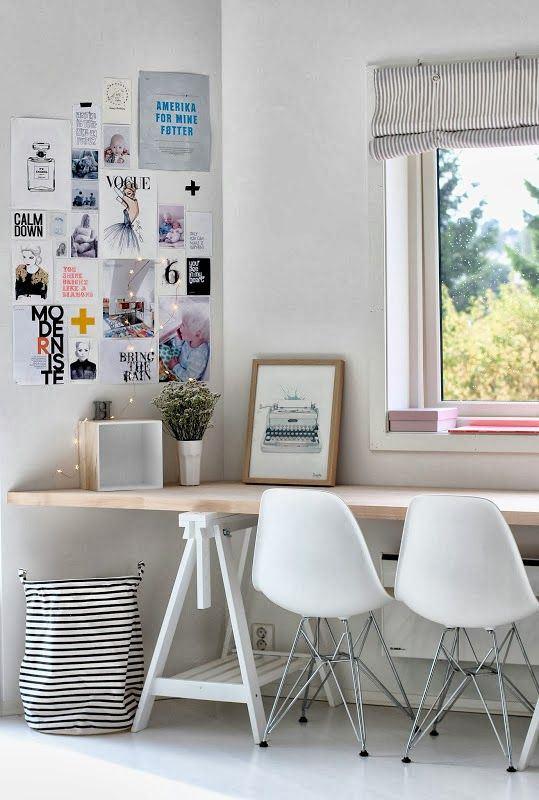 Ideas para crear tu espacio de trabajo en casa. ¿Poco espacio ...