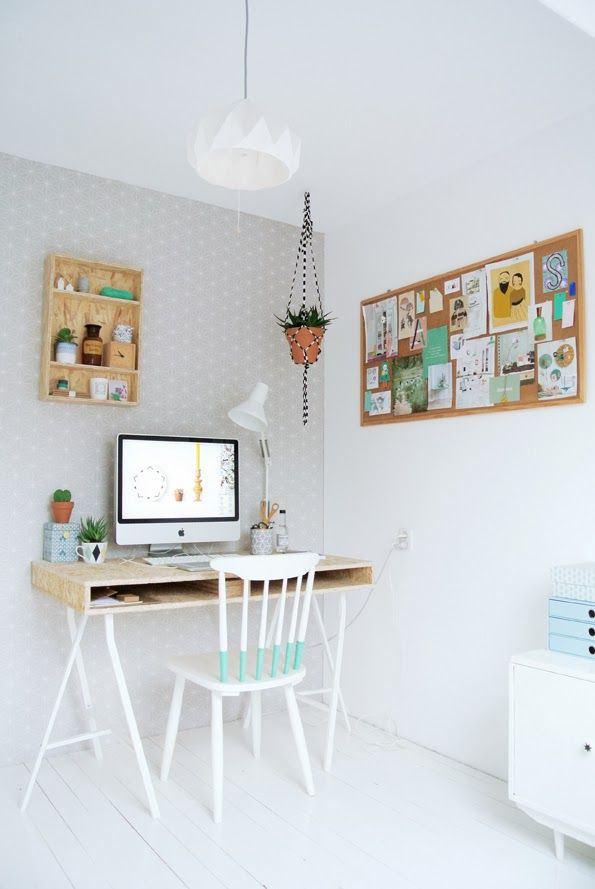 ideas para crear tu espacio de trabajo en casa poco On ideas de trabajo en casa
