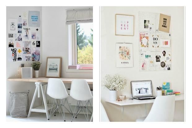 Ideas para crear tu espacio de trabajo en casa poco for Ideas para escritorios poco espacio