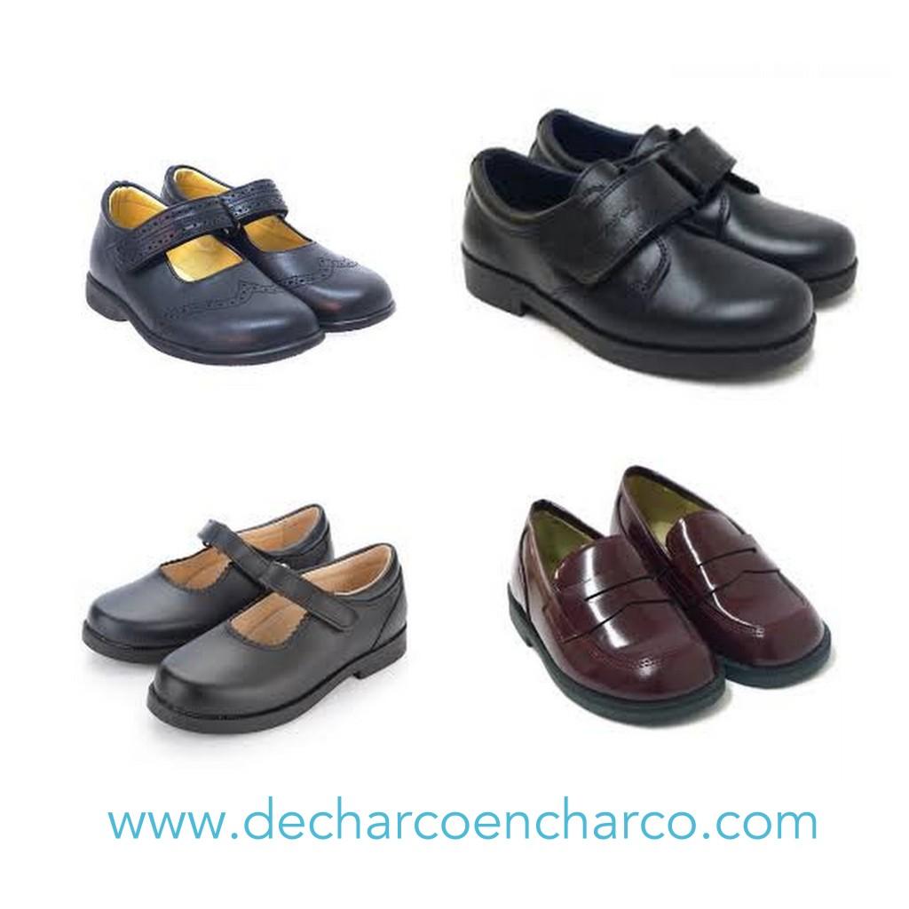 Zapatos para el colegio www.decharcoencharco.com