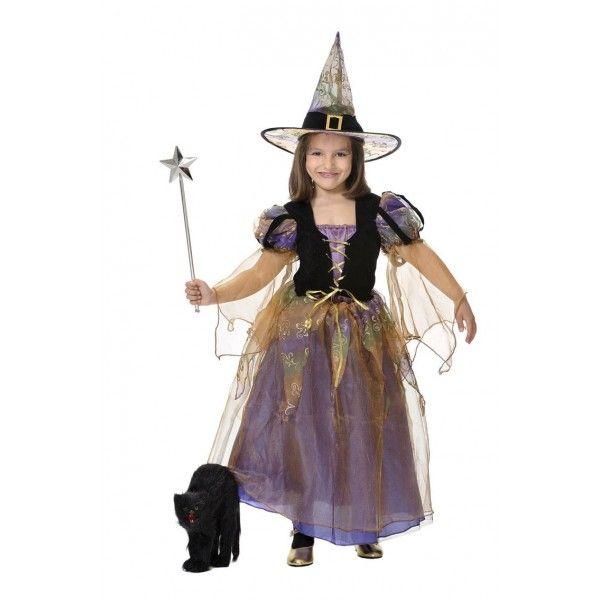 brujita disfraces halloween www.decharcoencharco.com