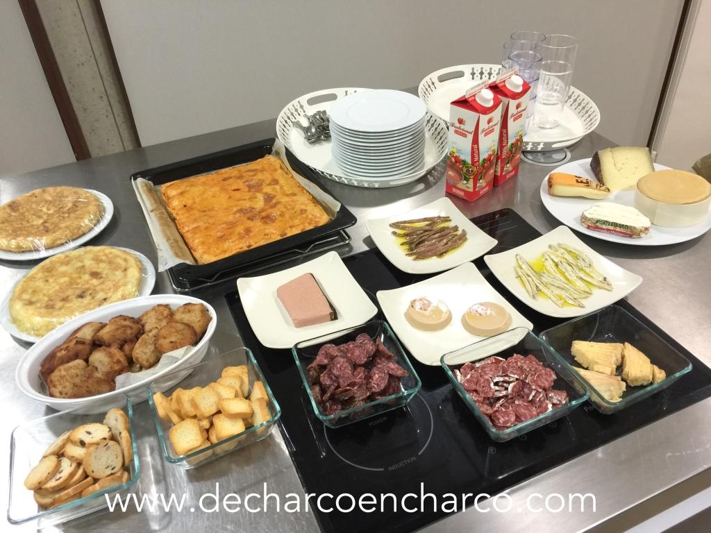 cena 16 preparacion www.decharcoencharco.com
