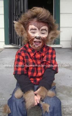 hombre lobo disfraces halloween www.decharcoencharco.com