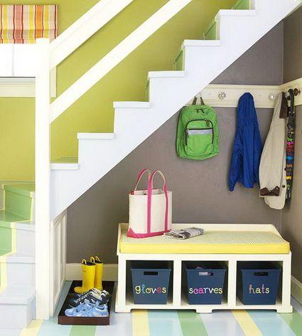 Ideas para aprovechar el hueco de la escalera nunca for Ideas de escaleras