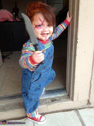 muñeco diabolico disfraces halloween www.decharcoencharco.com