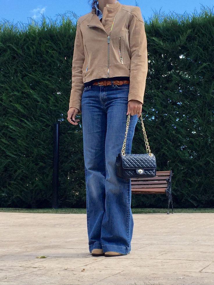 pantalon campana www.decharcoencharco.com