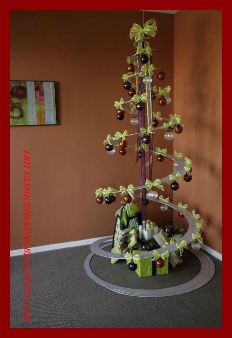 Rbol de navidad de charco en charco - Ideas originales arbol navidad ...