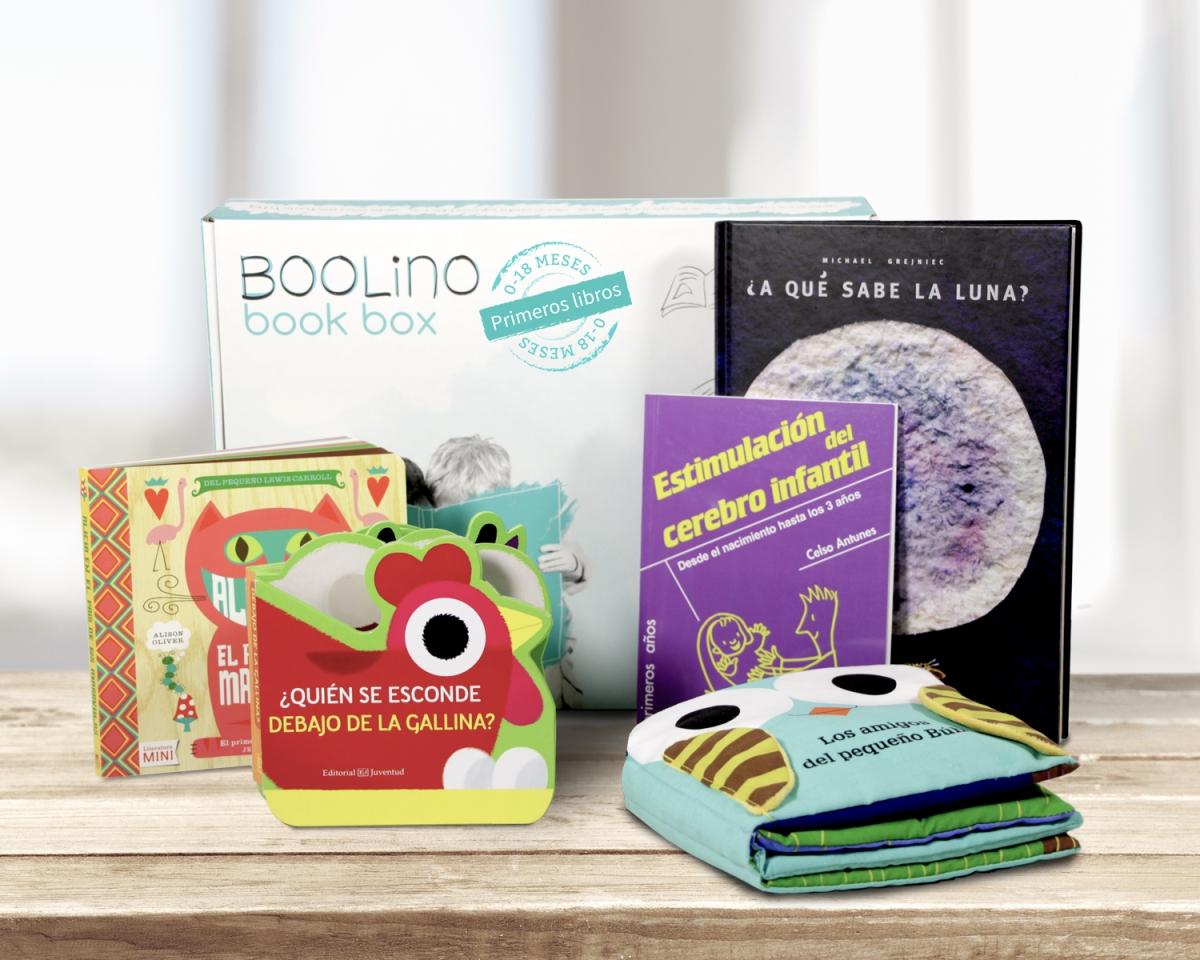 BOOLINO BOOK BOX PRIMEROS LIBROS CAJA UNICA WWW.DECHARCOENCHARCO.COM