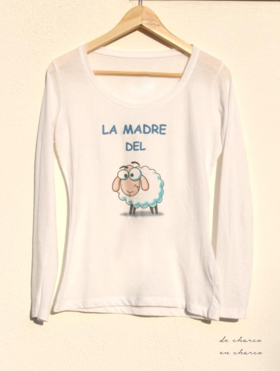 Camiseta LA MADRE DEL CORDERO para mujer