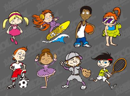 deportes niños www.decharcoencharco.com