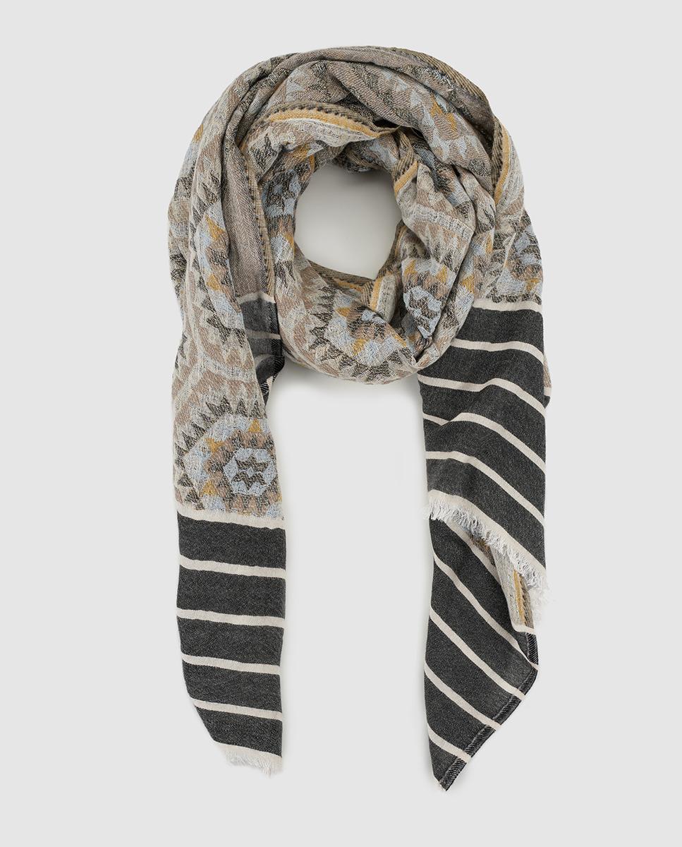 foulard mostaza www.decharcoencharco.com