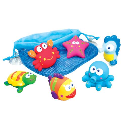 juguetes para la bañera de IMaginarium www.decharcoencharco.com