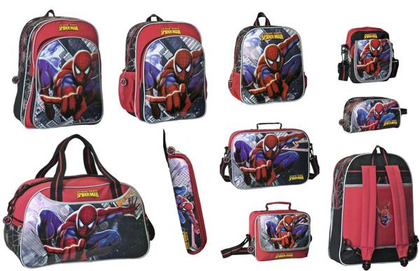 merchandising spiderman www.decharcoencharco.com