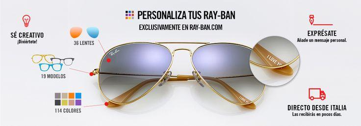 Ray ban personalizadas www.decharcoencharco.com