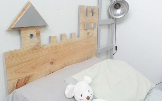 Cabeceros infantiles chul simos que puedes hacer en casa - Cabeceros de forja infantiles ...