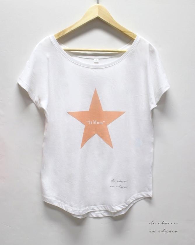 It Estrella Mujer De – Charco Mum Camiseta hdtQsr