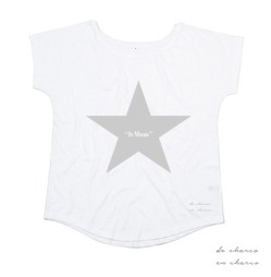 camiseta mujer it mum estrella plateada 2 www.decharcoencharco.com