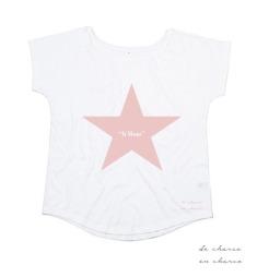 camiseta mujer it mum estrella rosa 2 www.decharcoencharco.com