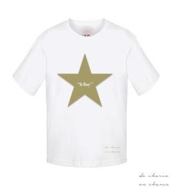 camiseta niño it boy estrella caqui 2 www.decharcoencharco.com