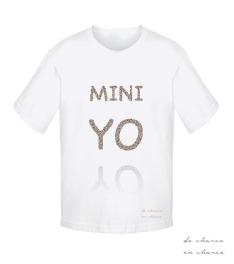camiseta niño mini yo www.decharcoencharco.com