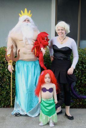 la sirenita carnaval familias www.decharcoencharco.com