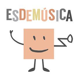logo esdemusica caja de musica www.decharcoencharco.com