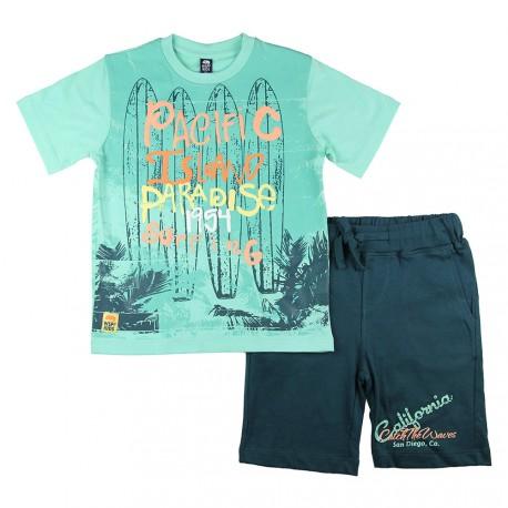 conjunto camiseta 611401 wsp kids www.decharcoencharco.com