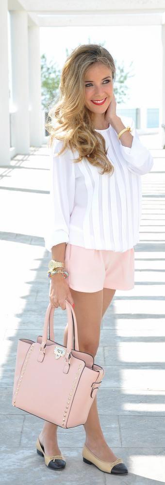 look primavera rosa cuazo shortswww.decharcoencharco.com