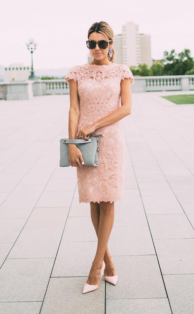 look primavera rosa cuazo vestido www.decharcoencharco.com