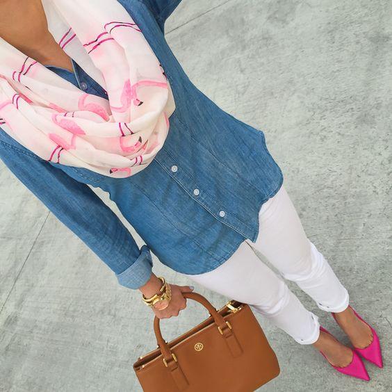 look primavera rosa fucsia www.decharcoencharco.com