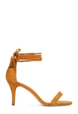 Sandalia marrón de JUSTFAB. 29,95€
