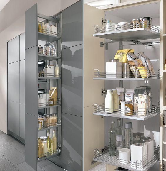 Ponemos un poco de orden en la cocina 8 consejos y un - Accesorios para armarios de cocina ...