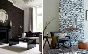 como-decorar-salones-con-papel-pintado-www.decharcoencharco.com