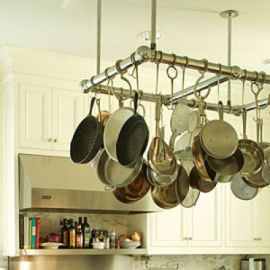 ganchos orden en cocina www.decharcoencharco.com