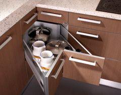 Mueble de esquina 3 orden en cocina - Muebles de cocina en esquina ...