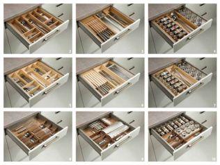 organizador prefabricado 8 transparentes prefabricado orden en cocina www.decharcoencharco.com