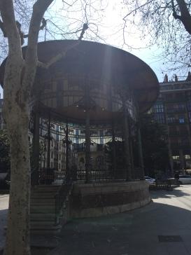 Kiosco en el Bulevard